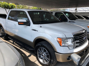 Ford Lobo 3.5 Lariat Cabina Doble 4x4 At 2014 Blanca