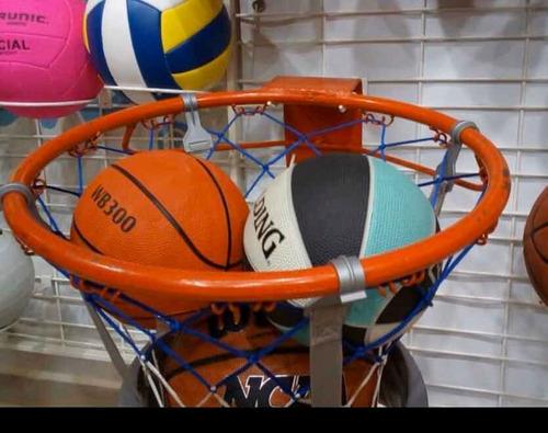 Aro Para Basket Profesional Macizo Con Malla Sy Co 24