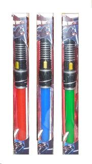 Sable Espada Star Wars Retractil, Luz Sonido V. Crespo