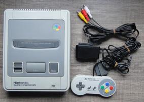 Nintendo Super Famicom Branquissimo Completo