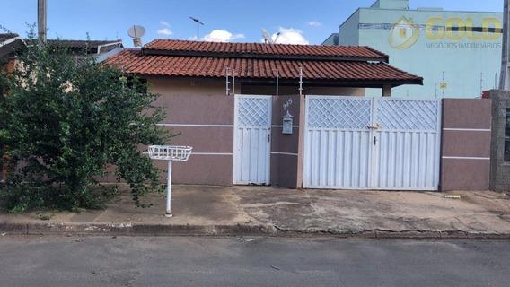 Casa Residencial À Venda, Jardim São José, Paulínia. - Ca0333
