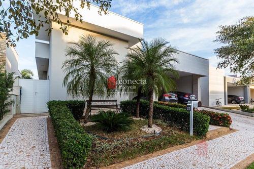Casa À Venda, 264 M² Por R$ 1.400.000,00 - Condomínio Athenas - Paulínia/sp - Ca1078