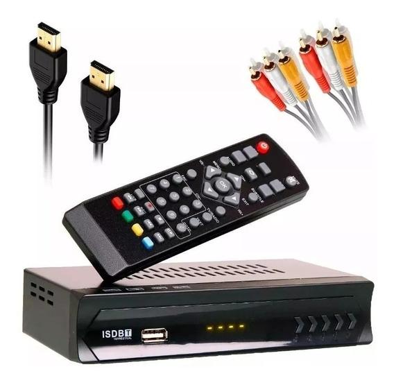 Conversor De Sinal Digital Hd E Gravador Para Tv Antiga De Tubo Ou Sem Conversor Integrado Full Hd Isdbt Hdmi Analógico