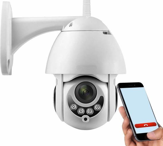 Kit 2 Camera Ip Hd Sem Fio Wifi Alarme Gravador Rj45 Cartao