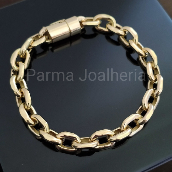 Pulseira Cartier Em Ouro 18k 750 Com 15 Gramas