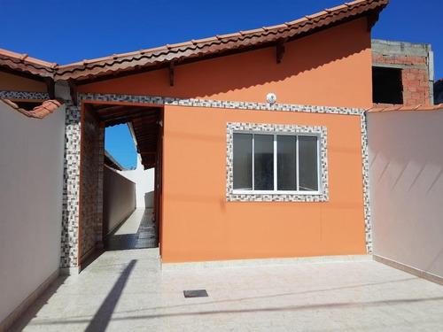 Casa Em Balneário Esmeralda, Praia Grande/sp De 66m² 2 Quartos À Venda Por R$ 225.000,00 - Ca637922