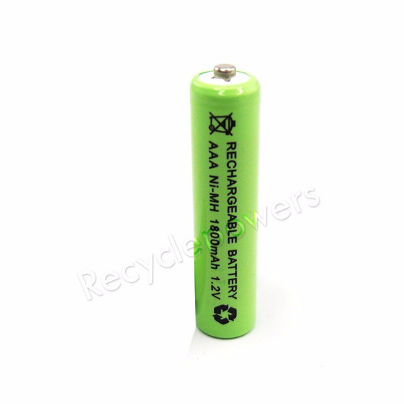 Pilha Bateria Recarregável 1800mah Aaa 3a 1.2v Nimh