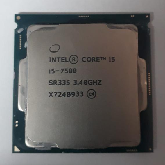 Processador I5 7500 3.4ghz Sétima Geração Ddr4.