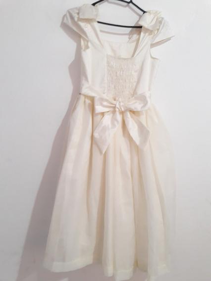 Vestido Infantil Tam. 08 Festa Luxo, Daminha, Princesa...