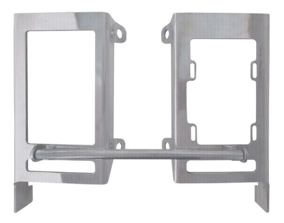 Par Protetor Radiador Alumínio Start Mxf 250 300 Rx Black 20