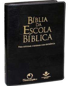 Bíblia Da Escola Bíblica Almeida Revista E Atualizada Grande