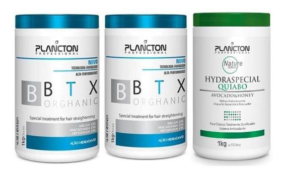 2 Btx Plancton 1kg + Masc Quiabo 1kg (nota Fiscal E Garantia