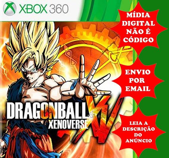 Dragon Ball Xenoverse-xbox 360-midia Digital