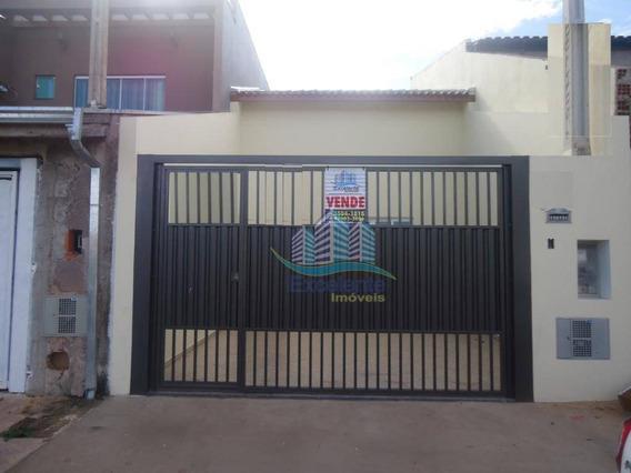 Casa Com 2 Dormitórios À Venda, 73 M² Por R$ 255.000 - Jardim Das Figueiras Ii - Hortolândia/sp - Ca0450