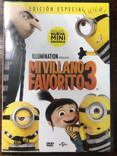 Dvd Mi Villano Favorito 3 / Despicable Me 3