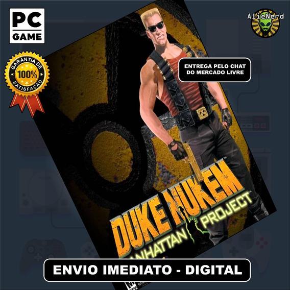 Duke Nukem Manhattan Project - Original - Pc - Mídia Digital