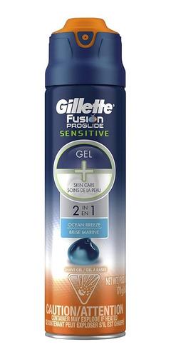 Gel De Afeitar Gillette Fusion Proglide 170ml Crema Original