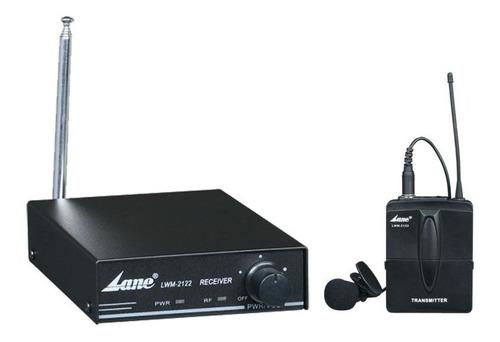 Sistema Microfono Inalambrico Lane Vhf 2122 Alta Calidad 45