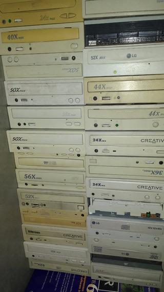 Leitor De Cd Vários Modelos Com Defeito Kit Com 05 Peças