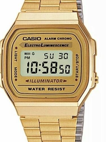 Relógio Cassio Dourado Unisex