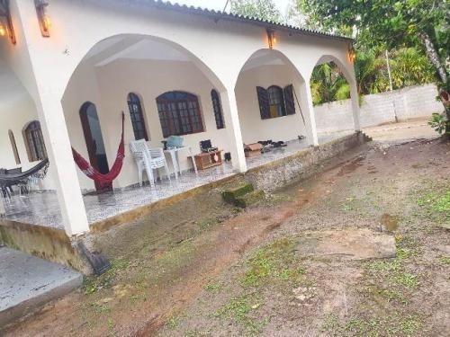 Chácara Com  Piscina E 3 Dormitórios Em Itanhaém/sp 7077-pc