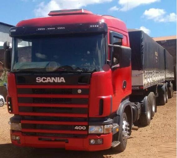 Scania 124 400 Ano 2006 Com Bitrem Randon 2011