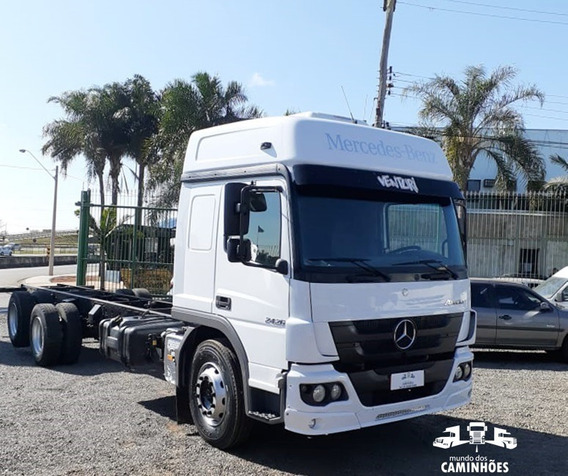 Mb Atego 2426 2013 Chassi