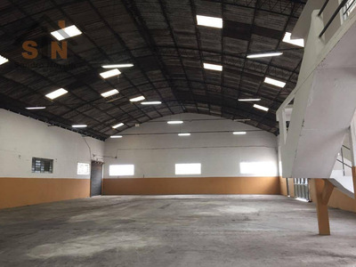 Galpão Industrial Para Locação. Vila Nova Bonsucesso, Guarulhos. - Ga0004