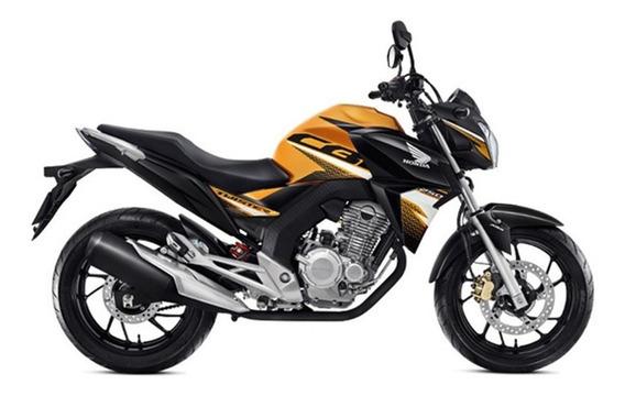 Moto Honda Cbx 250 Twister 0km 2020 Amarillo