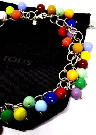 Gargantilla Collar Tous Original Murano $5950 Plata Fina 40c