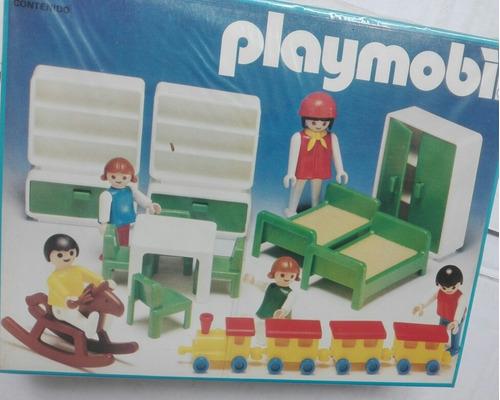 Playmobil Vintage Jardín De Infantes ¡nuevo! ¡hermoso!