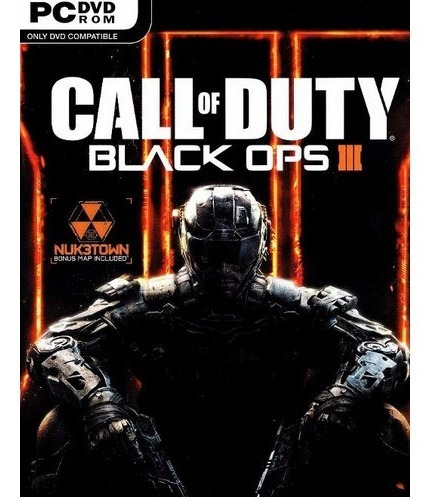 Call Of Duty Black Ops 3 Pc-dvd (midia Fisica)