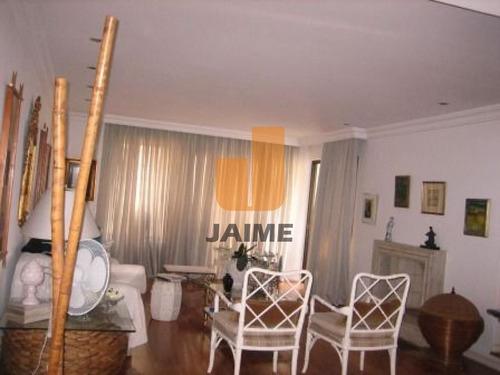 Apartamento Para Locação No Bairro Higienópolis Em São Paulo - Cod: Ja603 - Ja603