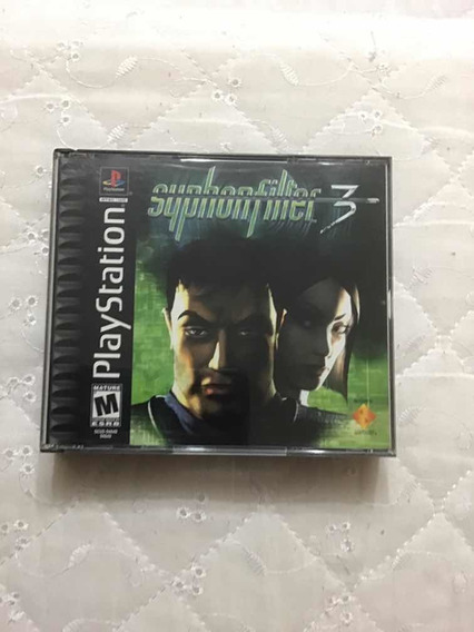 Game - Syphon Filter 3 - Ps1