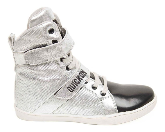 Bota De Treino Sneakers Fitness Feminina Quickon Diamond +nf
