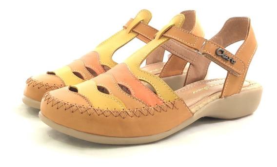 Claris Aleli Guaracha Cómoda Cuero El Mercado De Zapatos!!