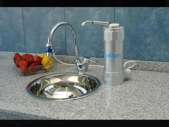 Purificador De Agua Ellen PlataKit Instalación 18 Filtros