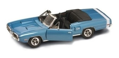 Miniatura Carro Dodge Coronet R/t 1970 1:18 Yat Ming 92548