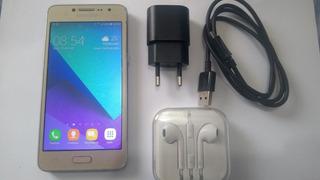 Smartphone Samsung Galaxy J2 Prime Dourado 16 Gb, Semi Novo