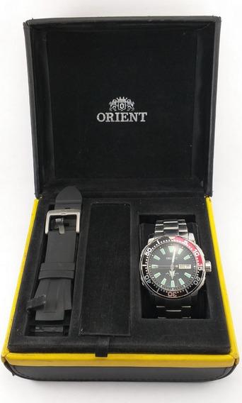 Relógio Orient Poseidon Automático 469ss039 Pvsx.