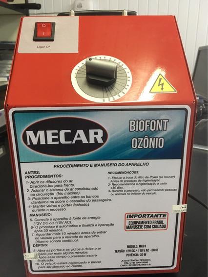 Aparelho Gerador De Ozônio 20mg P/ar Condic Automotivo Mecar