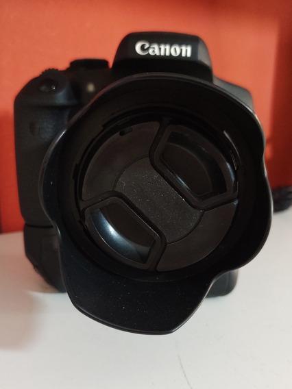 Canon T6i Com Grip E Três Baterias