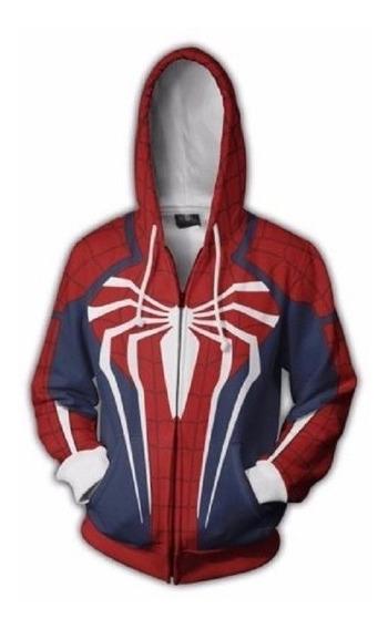 Sudaderas Spiderman Impresión 3d Varios Estilos