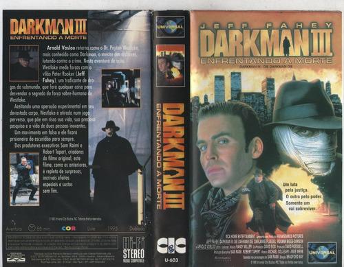 Darkman 3 Enfrentando A Morte - Raro Dublado | Mercado Livre