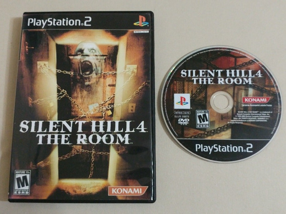 Silent Hill 4 Original Americano Na Caixa!! Jogaço!!