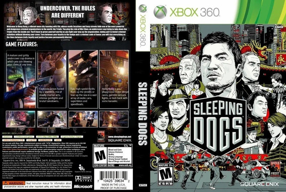 Sleeping Dogs - Xbox 360-midia Digital