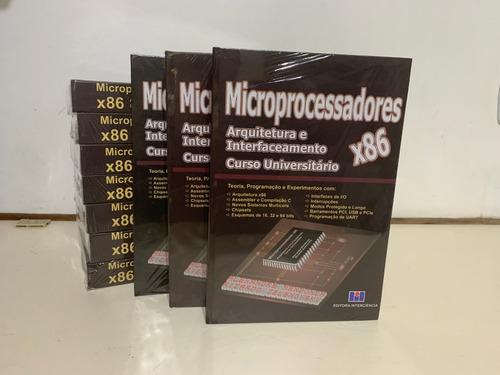 Imagem 1 de 3 de 10 Un Microprocessadores X86 - Arq Interf Cur Univ Capa Dura