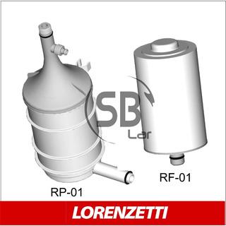 Kit Refil Filtros Purificador Naturalis Lorenzetti - 2pcs