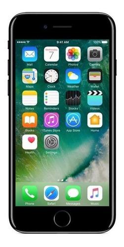 iPhone 7 128gb Usado Seminovo Celular Preto Brilhante Mt Bom