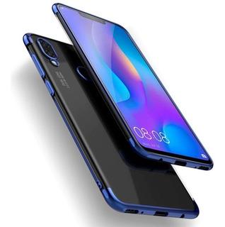 Capa Case Ultra Slim Huawei Y9 + Pelicula De Vidro 5d Full Glue